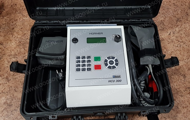 Аппарат Hurner HCU 300 для электромуфтовой сварки